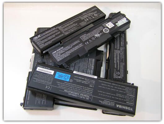 Замена аккумуляторов в батарее ноутбука