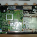 Чистка ноутбука HP Compaq Presario CQ60 в Днепропетровске 3